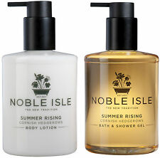 Noble Isle Summer Rising Set (shower gel&body lotion) & a FREE 30ml Molton Brown