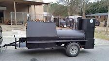 Deep Fryer Option BBQ Smoker 36 Grill Cooker Trailer Food Truck Catering Event