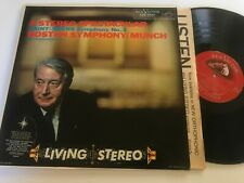 Saint-Saens Symphony Boston Organ LSC-2341 RCA Living Stereo Classical Record lp