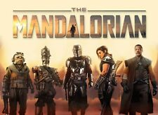 Star Wars The Mandalorian poster - 12 x 16 inches - star wars Poster
