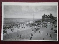 POSTCARD LANCASHIRE BLACKPOOL - PRINCESS PARADE LOKING NORTH 1913