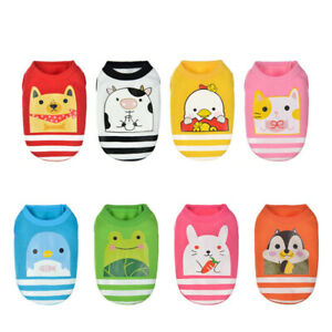 Lot of 8x XXXS XXS Dog Clothes Pet Hoodie Puppy Cat Outfit for Teacup Chihuahua