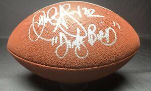 Jamal Anderson Signed Atlanta Falcons Super Bowl XXXIII Football PSA 9A67953