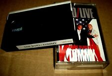 Video8 8mm VIDEO CAMCORDER TAPE CASSETTE The Who Live & Tommy The Rock Opera