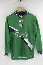 840e70e6ccc RARE MICHEAL OWEN Mens LIVERPOOL Football Shirt REEBOOK Small 1999 2000 P57
