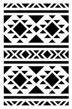 Stencil 10x15 CM Navajo - Artémio