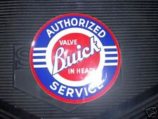 """Buick Valve In Head Authorized Service Decal 10"""""""
