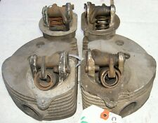 1951-52 AJS Matchless G9 500cc pair cylinder heads G