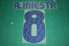 Barcelona 10/11 #8 A. INIESTA Awaykit Nameset Printing
