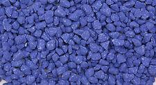 aquarium en couleur GRAVE bleu foncé 3 to 8mm céréales 2 kg pour aquariums