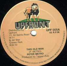 """upfront 10"""" : PETER METRO-this old man  (hear)"""