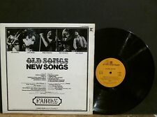 FAMILY  Old Songs New Songs    LP   Stereo UK  1st pressing.  A1/B1 matrix