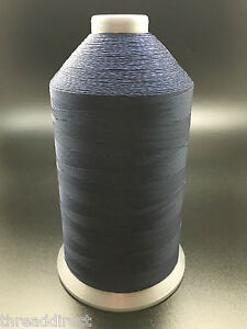 16oz Imperial Navy #69 Bonded Nylon Sewing Thread 6000 Yards T70 Fabric N93