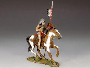 King & Country - TRW04 - Mounted Wolf's Head w/ Shield & Lance  New original box