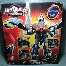 power rangers DX TITAN megazord mystic force bandai