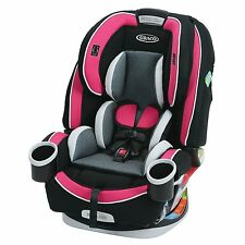 Graco 4Ever All-in-1 Convertible Car Seat with InRight LATCH System (Azalea)