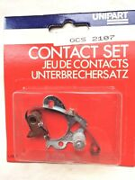 GCS 107 CONTACT POINTS GENUINE UNIPART LAND ROVER SII ROVER P4 80, 110, P5 etc.