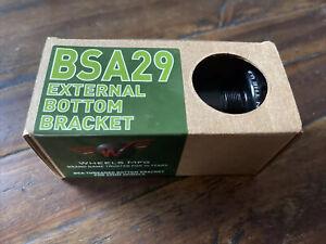 Wheels Manufacturing BSA English Threaded Bottom Bracket - DUB Spindle ABEC-3 Be