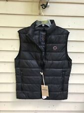 NWT Abercrombie & Fitch 2019 Lightweight Packable Puffer Vest Jacket Black SZ S