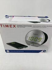 Timex® Dual Alarm Clock Radio with Usb Charging Port