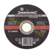 Disque plat de Coupe tout usage Extra Robuste Silverline 103672