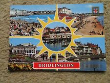BAMFORTH..POSTCARD.MULTI-VIEW OF BRIDLINGTON WITH 5 VIEWS.NOT POSTED.