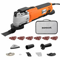 Oscillating Multi Tool 6 Variable Speed with 14pcs Accessories and Carry Bag