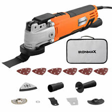 Costway Oscillating Multi Tool 6 Variable Speed W/ 14pcs Accessories & Carry Bag