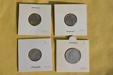 Liberia  Lot of 4 Coins 1937 1941 1960  1961