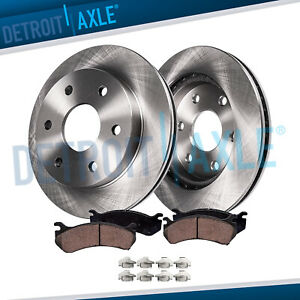 Front Brake Rotors + Brake Pads GMC Sierra Silverado 1500 Yukon Brakes Rotor Kit