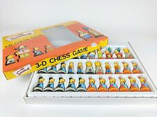 THE SIMPSONS 3-D CHESS GAME EXCELLENT CONDITION