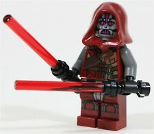 LEGO STAR WARS SITH WARRIOR MINIFIGURE OLD REPUBLIC - MADE OF GENUINE LEGO PARTS