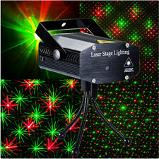 DJ Club Disco KTV Party Bar LED R&G Mini Laser Projector Stage Effect Light AS