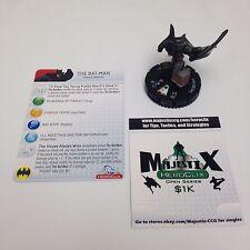 Heroclix Superman set The Bat-Man (Flashpoint) #046 Super Rare figure w/card!
