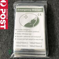 Emergency Space PREMIUM Blankets Camping Survival Rescue First Aid Waterproof