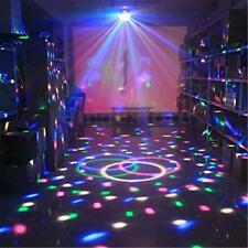 MINI ROTATING LED RGB MAGIC CRYSTAL BALL STAGE LIGHT DISCO KTV PARTY LASER LIGHT