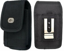 Large Rugged Canvas Case Holster fits w/ Otterbox on for Alltel BlackBerry Phone