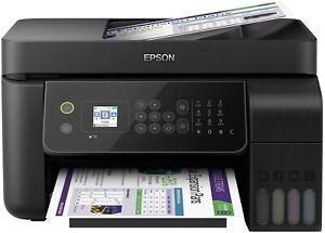 Epson EcoTank ET-4700 4-in-1-Tintenmultifunktionsgerät -Kopierer, Scanner, Druck