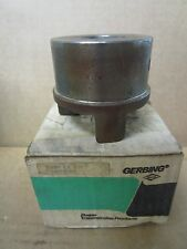 """NEW GERBING KEYED BORE CAST IRON JAW COUPLING G-1000 X 1 3/16 404-8140 1 3/16""""ID"""