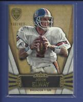 John Elway  2012 Topps Supreme Card # 40 Ser #'d / 462 Denver Broncos QB