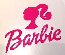 Pink Barbie Vinyl Decal Sticker