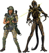 "Aliens - Hudson Vs Brown Warrior 7"" Action Figure (2 Pack) NEW IN BOX"