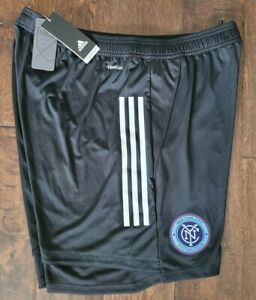 New NYCFC Adidas Authentic Aeroready Condivo 20 MLS Soccer Shorts Mens XL $60