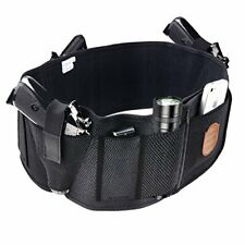 Concealed Carry Belly Band IWB Gun Holster w/ 3 Pistol Holder & 4 Mag Pouch (M)