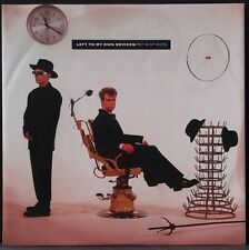 "PET SHOP BOYS - LEFT TO MY OWN DEVICES 12""SG OZ PRESS 1988 NM"