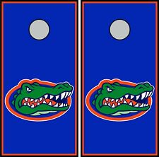 Florida Gators 0322 cornhole board vinyl wraps stickers posters decals skins