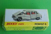 DINKY TOYS ATLAS RENAULT 6  REF1416 NEUF EN BOITE JAMAIS OUVERT ech1/43