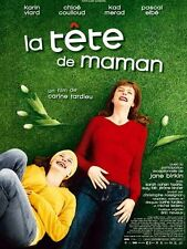 Affiche 40x60cm LA TETE DE MAMAN (2007) Karin Viard, Chloe Coulloud, Kad Merad