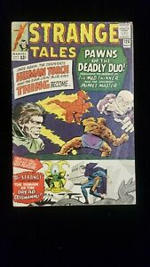 Strange Tales #126  Unrestored  Doctor Strange MCU Key. 1st Dormammu 1st Clea
