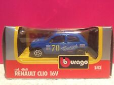 BURAGO SUPERBE RENAULT CLIO 16V NEUF EN BOITE 1/43 K7